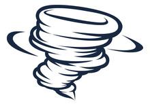 Tornado Cyclone Hurricane Twister Icon