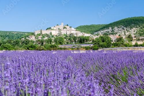 In de dag Lavendel France, Provence, village of Banon in the Vaucluse