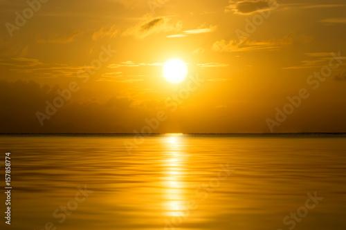 Fototapety, obrazy: sunset sky, unfocused