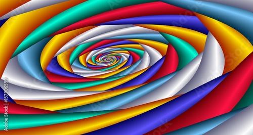 Valokuva  Colorful spiral