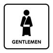 サイン トイレ,男性,和風,着物