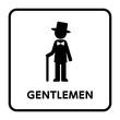 サイン トイレ,男性,洋風,スーツ