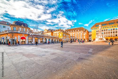 Fotografie, Obraz  main square in Bolzano