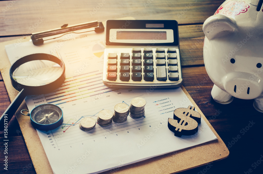 Fotografía Business Financial Planning Financial Analysis for Corporate Growth