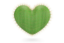 A Heart Shaped Prickly Pear Ca...