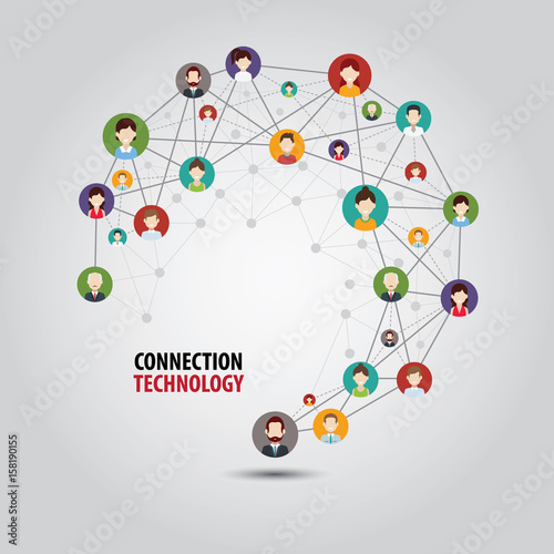 Fotografia  Circle Connection Technology