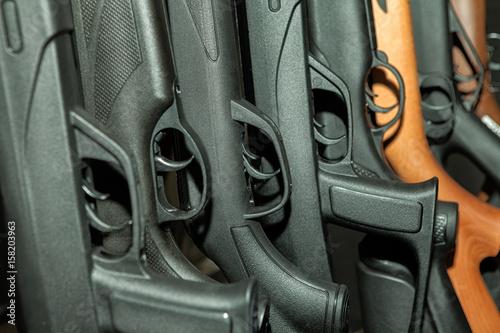 Beretta shotgun collection Canvas Print