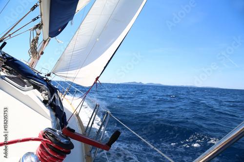 Fototapety, obrazy: bateau à voile sur la mer