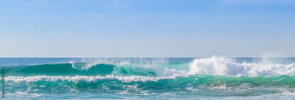 Fototapety, obrazy: Praia com ondas.