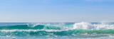 Fototapeta See - Praia com ondas.