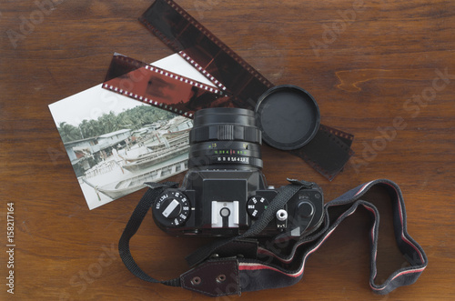 Reflex analogica fotocamera Canvas Print