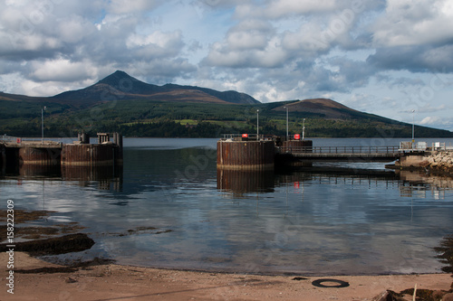 isle of arran Canvas Print