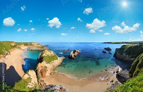 Fotografia  Atlantic Ocean coast, Spain.