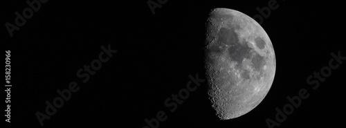 Zunehmender Mond / Halbmond