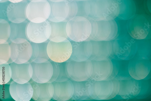 Photo  Abstract bokeh of light.