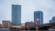 Grand Rapids Michigan City Sky...