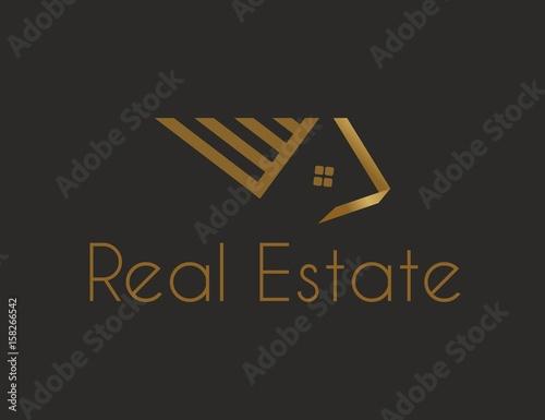 Fototapeta Logo biznes, Biuro Nieruchomości obraz
