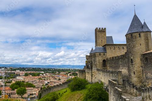 Cadres-photo bureau Orange Castle of Carcassonne, France