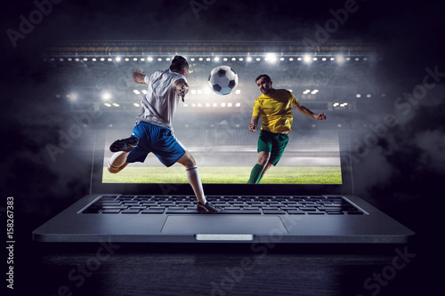 Football hottest moments Canvas Print