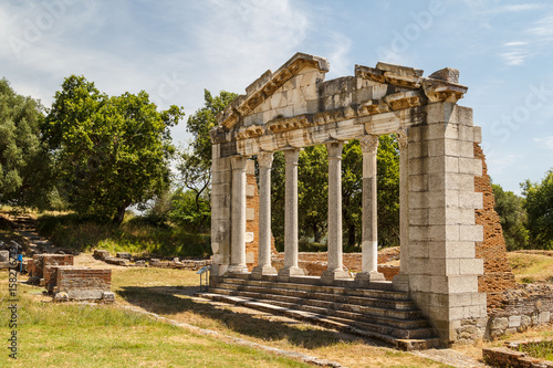 Photo Ruins of the ancient Apollonia town, Albania