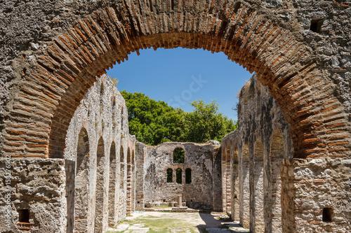 Photo Ruins of the ancient town Butrint (Buthrotum), Albania