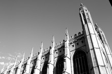 Cambridge Architecture (Black And White)