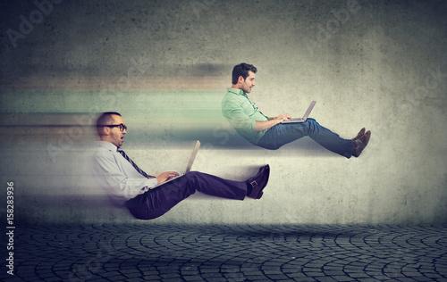 Fotomural Fast internet concept