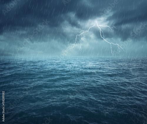 Zdjęcie XXL Stormy Ocean
