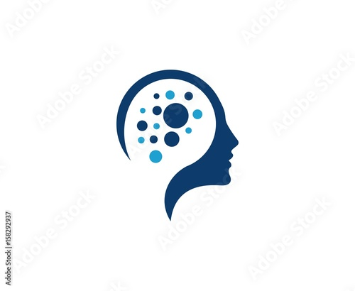 Fototapeta Mind logo