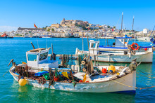 Fishing Boats In Ibiza (Eiviss...