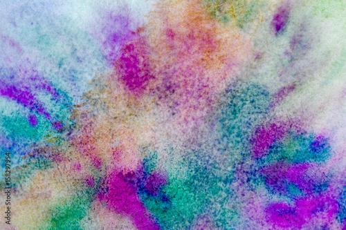 Plakat Tło z akwarela mieszane kolory