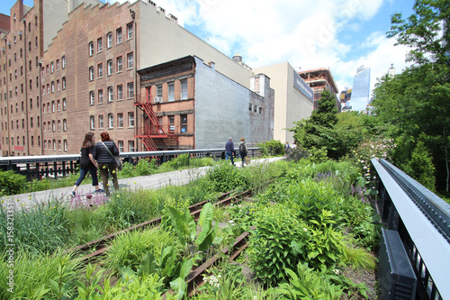 Photo  High Line Walkway / New York City - USA
