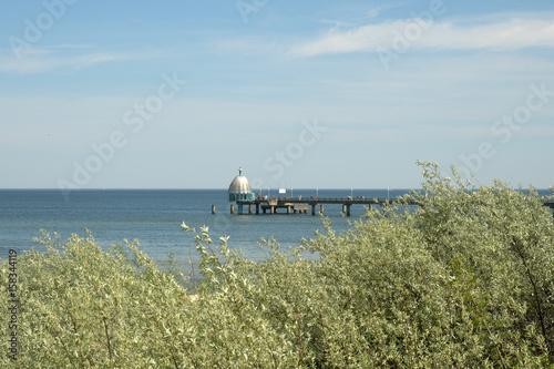 Keuken foto achterwand Noordzee seebrücke zinnowitz