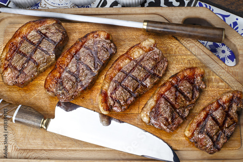 Fotografie, Tablou  Grilled picanha, traditional Brazilian cut!