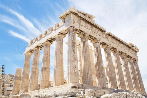Fotobehang Athene Parthenon on the Acropolis