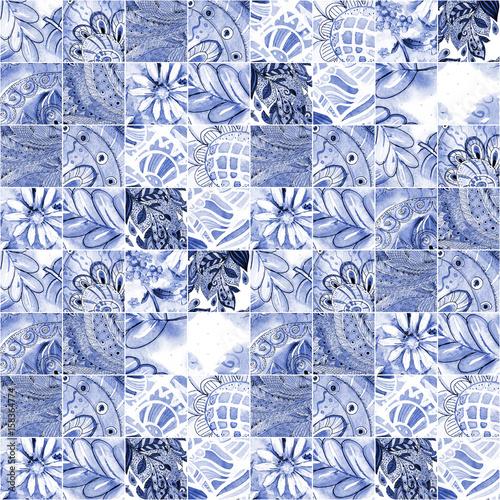 monochromatyczna-bezszwowa-tekstura-z-blekitnym-etnicznym-patchworku-wzorem-malarstwo-akwarelowe