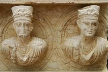 Statues Palmyra Syria