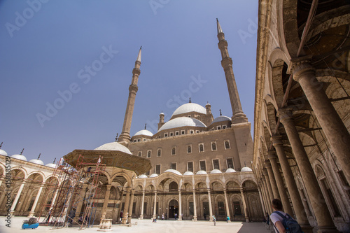 Fotografia, Obraz  The mosque of Mohammed Ali, which is part of the Saladin citadel of Cairo, Egypt