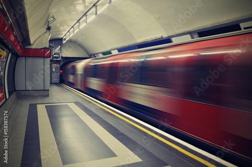 London underground Fototapet