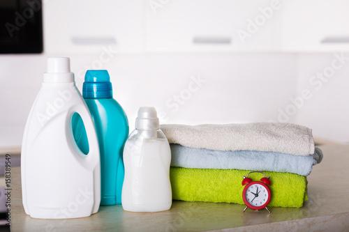 Foto op Plexiglas Spa Freshly washed laundry