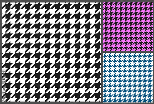 Photo  houndstooth pattern vector