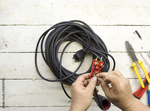 Astounding Electrical Equipment Tools Cables And Accessories Used By An Wiring Cloud Hisonuggs Outletorg