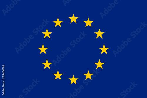 Fotografía European union flag