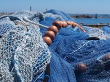 Filets De Pêche En Bretagne