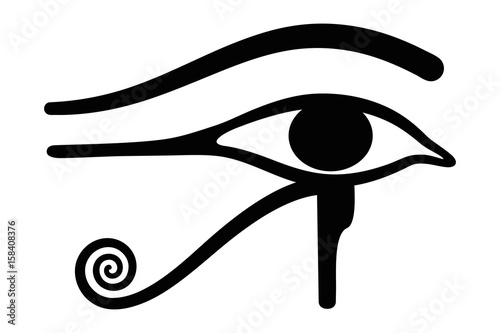 Wedjat Later Called Eye Of Horus Ancient Egyptian Symbol Of