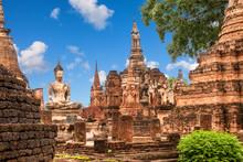 Wat Mahathat (temple). Sukhoth...
