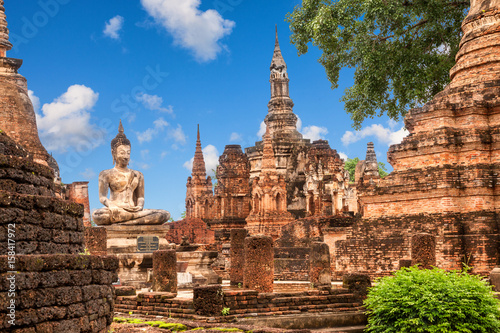 Obraz na plátně  Wat Mahathat (temple)