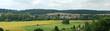 canvas print picture - Panorama de la vallée de l'Andelle, Normandie
