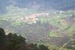 Rural landscapes in the foothills of Serra da Estrella. County of Guarda. Portugal