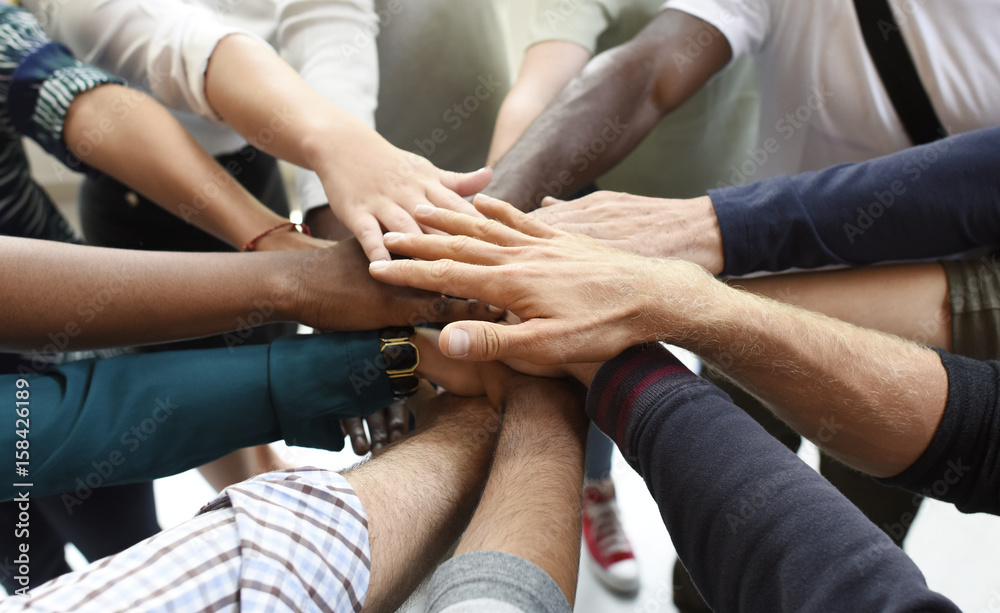 Fototapeta Startup Business People Teamwork Cooperation Hands Together